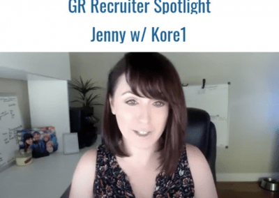 GR Spotlight: Jenny Burdick-Thomas, Delivery Manager and Sr. Technical Recruiter at Kore1