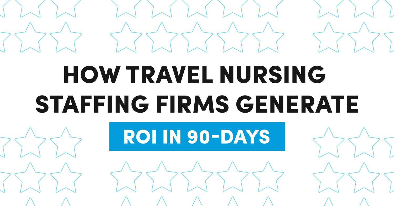 Travel Nursing Staffing Firms